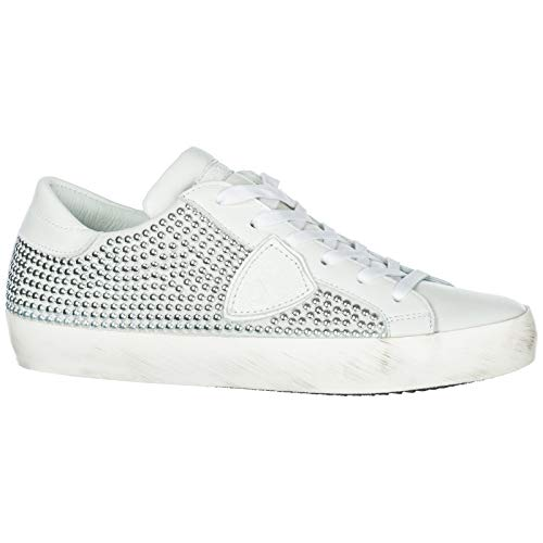 Donna Philippe Paris Sneakers Blanc Model Full qpwTat1w