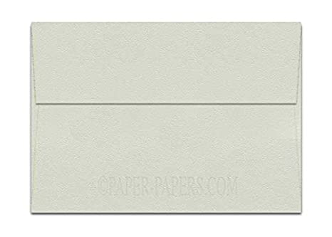 Textured Bianco Off White A7 5 1 4 X 7