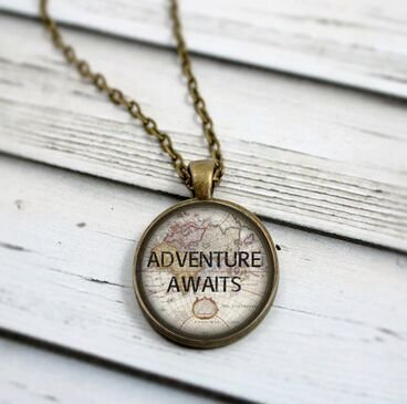 adventure-awaits-necklace-wanderlust-map-necklace-gypsy-jewelry