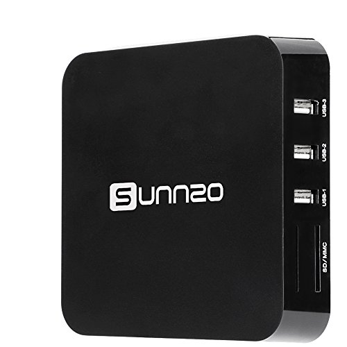 UPC 647726943442, SUNNZO S2 Android 5.1 Streaming Media Player/TV Box with Wifi 4K Playing
