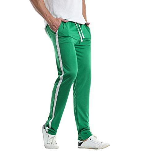 TANGSen Men's Casual Slim Sports Pants Skinny Striped for sale  Delivered anywhere in USA