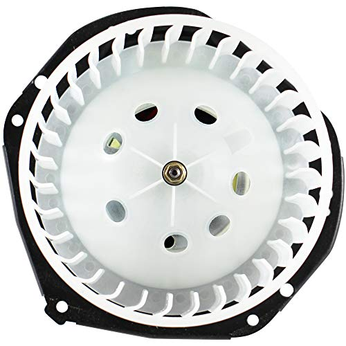 BOXI Blower Motor Fan Assembly for CHEVROLET 85-95 ASTRO / 95-96 BLAZER / 85-95 SAFARI GMC / 95-96 GMC YUKON CHEVROLET TAHOE / 92-96 CHEVROLET K1500 K2500 K3500 / 88890696 88959521 700103