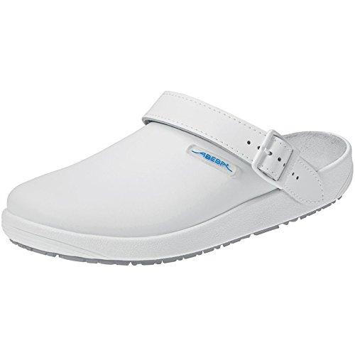 Abeba - Zuecos para uniforme de trabajo, blanco, 9200 blanco