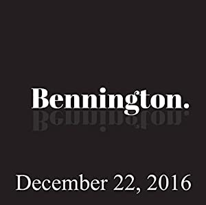 Bennington, Bonnie McFarlane, December 22, 2016 Radio/TV Program