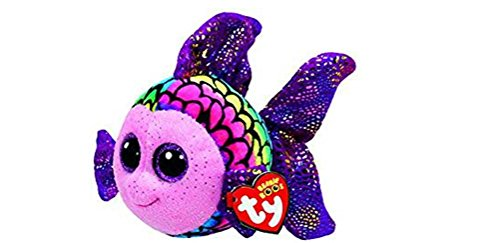 Flippy Multicolor Fish Beanie Boo Large 13 inch