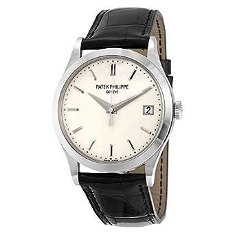 PATEK PHILIPPE CALATRAVA de hombre 18 K oro blanco reloj - 5296 G-010: Patek Philippe: Amazon.es: Relojes