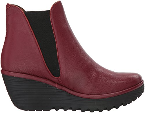 Fly Londra Womens Yoss Cordoba Red Mousse
