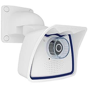 Mobotix MX-M24M-Sec-Night-CS Vario - Cámara de vigilancia (640 x 480 Pixeles, H.264, M-JPEG, 640 x 480 (VGA), 0.1 Lux, 180 °, 360 °) Color blanco