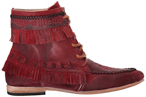 Womens Freebird Womens Ankle Ankle Tribe Red Bootie Freebird Ankle Red Bootie Tribe Womens Tribe Freebird Bootie Red AxCBBwq