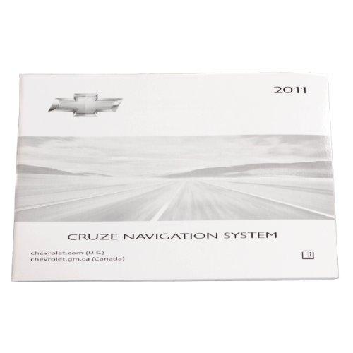 2011 Chevy Cruze Nav Navigation Owner's Manual Book 20959597 ()