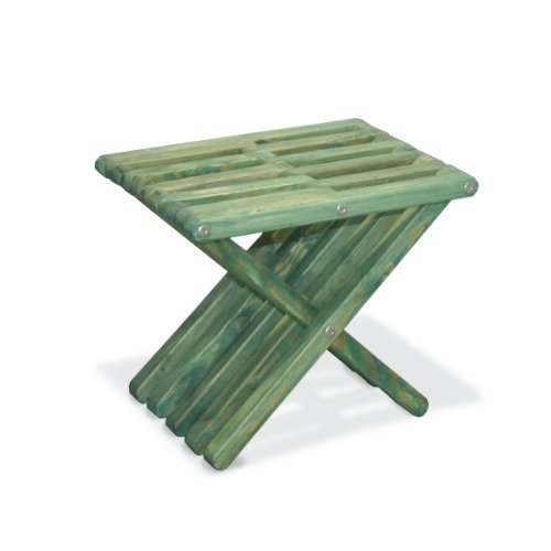 GloDea X30 Stool, Selection/No Knots, Alligator Green