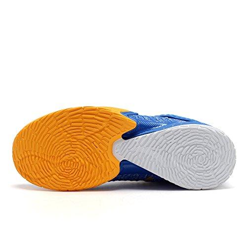 Anta Scarpe 2017 Mens Kt3 Pallacanestro Blu / Arancio / Bianco