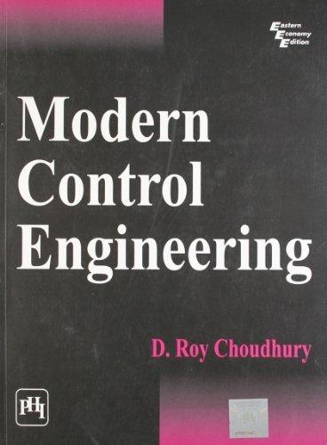 Modern Control Engineering by D.Roy Choudhury (2005-03-30)