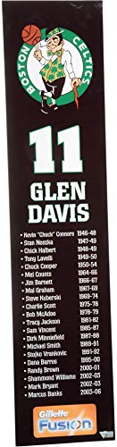 Glen Davis Boston Celtics Team-Issued #11 Black Player Panel from the 2006-07 NBA season - Size - 28