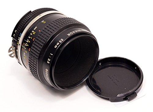 Nikon Nikkor 55mm f/3.5 micro macro close-up AI lens