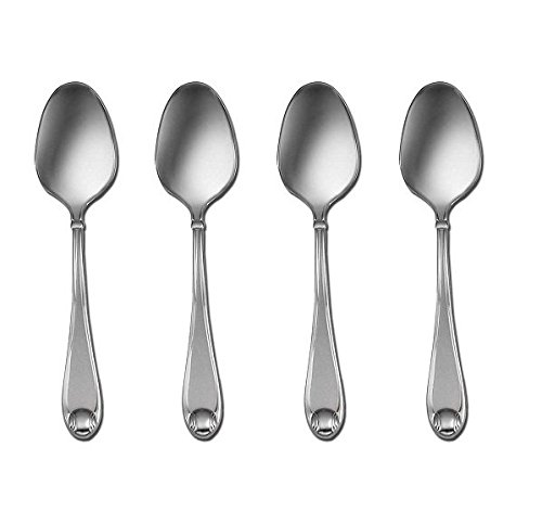 Oneida Satin Garnet Set of 4 Teaspoons