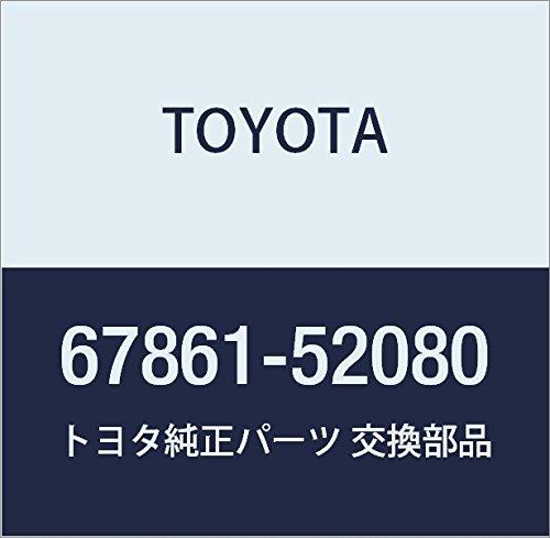 TOYOTA Genuine 67861-52080 Door Weatherstrip