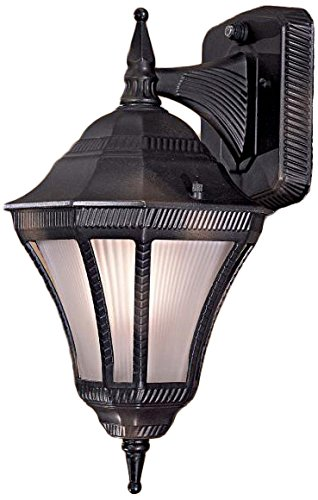 Minka Lavery Minka 8201-94-PL Traditional One Light Wall Mount from Segovia Collection in Bronze/Darkfinish Outdoor Small, Upc-747396049953