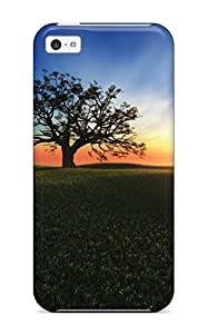 Hot Tpye Sunset Hill Case Cover For Iphone 5c