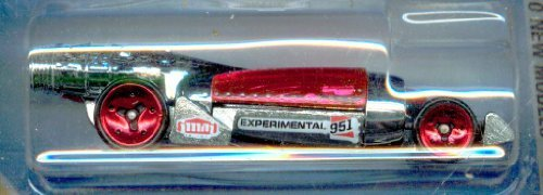 (Hot Wheels New Models 2010 031 Salt Shaker Silver and Red)
