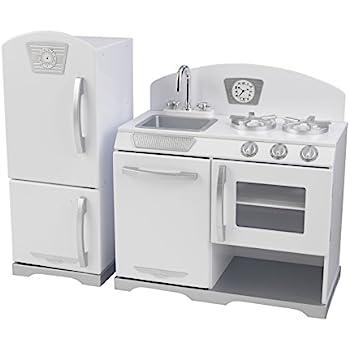Merveilleux KidKraft Retro Kitchen And Refrigerator (2 Piece), White