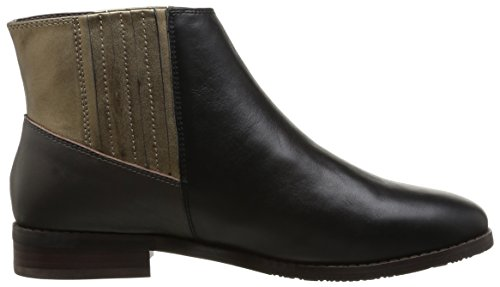 Esska Dash Damen Stiefel & Stiefeletten Mehrfarbig - Multicolore (Black Taupe Bronze)
