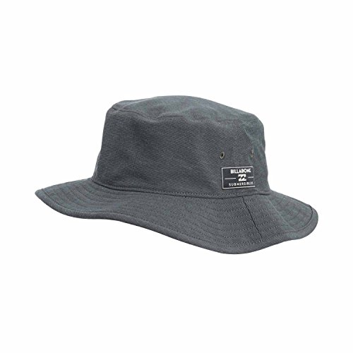 Billabong Men's Submersible Stretch Snapback Hat, Asphalt, One Size (Submersible Accessory)