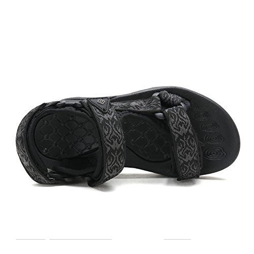 DREAM PAIRS Little Kid 170892-K Black Outdoor Summer Sandals Size 13 M US Little Kid by DREAM PAIRS (Image #2)