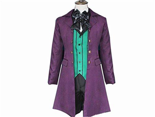 [Black Butler Kuroshitsuji Alois Trancy cosplay costume pre made] (Black Butler Alois Costume)