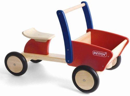 Bagger Holz - Pintoy Cargo Truck Rutscher - Kinderbagger Holz
