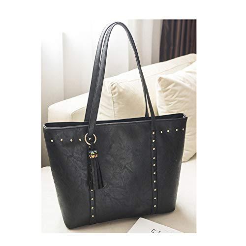 Ladies Handbags Bag Negro Europe Tote 2018bag Fashion And negro America Bag Shoulder hlh OTqxnOtw1