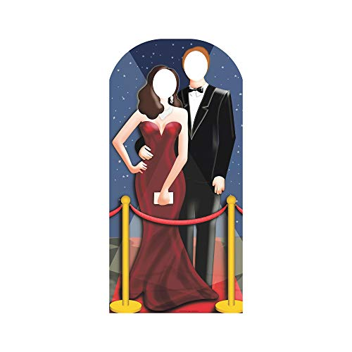 Star Cutouts SC170 Red Carpet Stand in Cardboard Cut Out