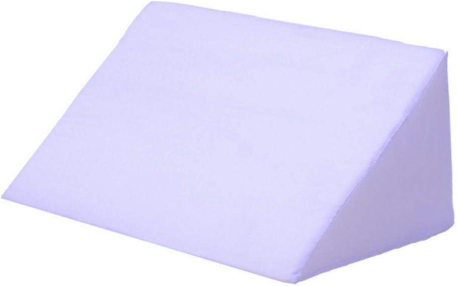 Cama De Espuma Cuña Ácido Reflujo Almohada Elevar La Pierna Apoyar Volver Apoyo Lumbar Almohada Cojines Lado Dormir Almohada Azul Blanco