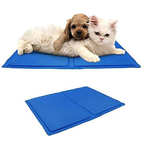 ZHJZ Lettiera per Cani Confortevole Pet Cooling Cat Cat Cat Cool Mat Tappetino per il raffreddonnato del gel Stuoia del materassino per il rilievo del calore non tossico (45 x 60 cm) fe29f6