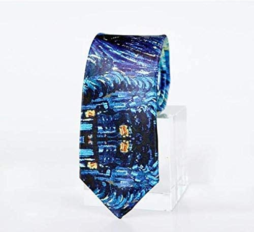 Mens Tie Ethnic Ornament Seamless Pattern Fashion Silk Skinny Ties Personalized Gift Neckties