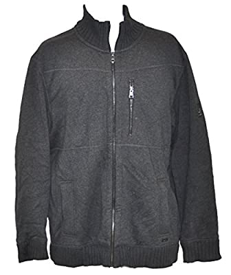 Calvin Klein Men's Lifestyle Sportswear Full Zip Sweater Jacket