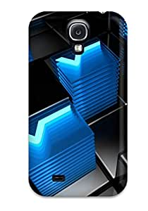 New Style Hard Case Cover For Galaxy S4- Vitrex Cubes 3390734K70650093