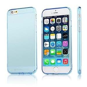 PG iPhone 6 Plus compatible Solid Color Back Cover(Transparent)