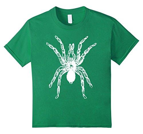 Kids Scary Spider Halloween Costume T-Shirt Tarantula Pet 8 Kelly Green