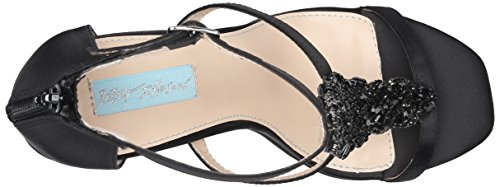 Blu By Betsey Johnson Donna Abito Sb-lydia Sandalo Nero Satinato