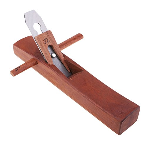 Baoblaze 1 Piece Rosewood Woodworking Flat Plane Edge Hand Planer Carpenter Woodcraft Polish Supplies