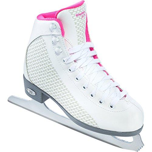 Riedell 13 Sparkle Junior Girls Soft Figure Skates