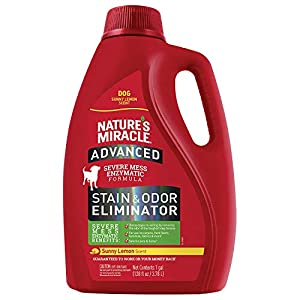 Nature's Miracle Sunny Lemon Advance Stain and Odor Eliminator 32 oz 1