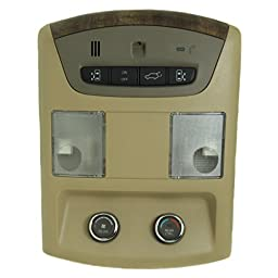 Beige w/Wood Overhead Console 96980-Zm95B fits 2007-09 Nissan Quest