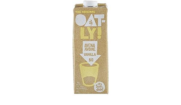 Oatly - Bebida Avena sabor Vainilla Oatly Bio, 1 L - [pack de 3]: Amazon.es: Alimentación y bebidas