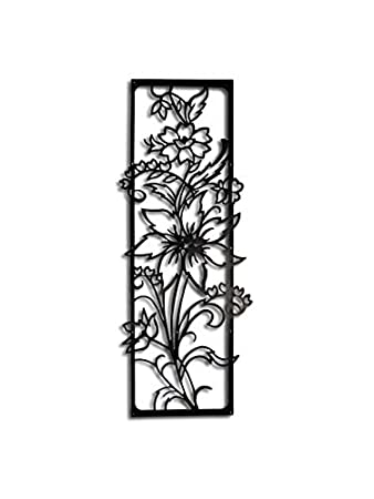 c7c05f4b45 Amazon.com: Line Wall Art Flower Off Life Wall Art Decor: Home & Kitchen