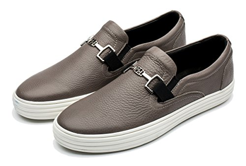opp-mens-classic-leather-sneaker-flats-shoes-65-dmus-gray