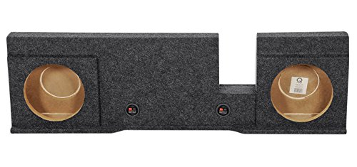 Dual 10″ Subwoofer Sub Box Enclosure for 2004-2008 Ford F150 Xcab or SuperCrew