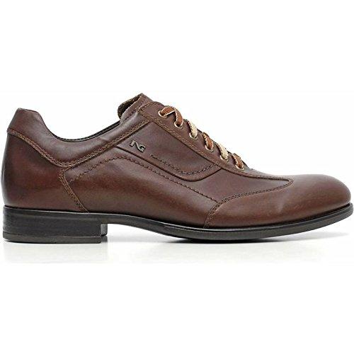 Sneaker Uomo Elegante Marrone A604561U-412 - Nero Giardini