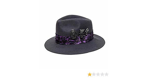 5ee440a57 Disney Haunted Mansion Hitchhiking Ghosts Fedora Hat Adult Mens at ...